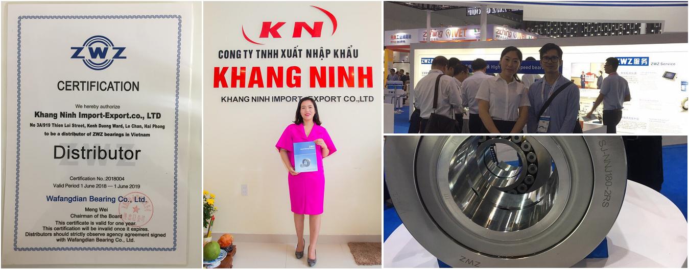 Khang Ninh - Nhà Phân Phối Vòng Bi Hàng Đầu Tại Việt Nam